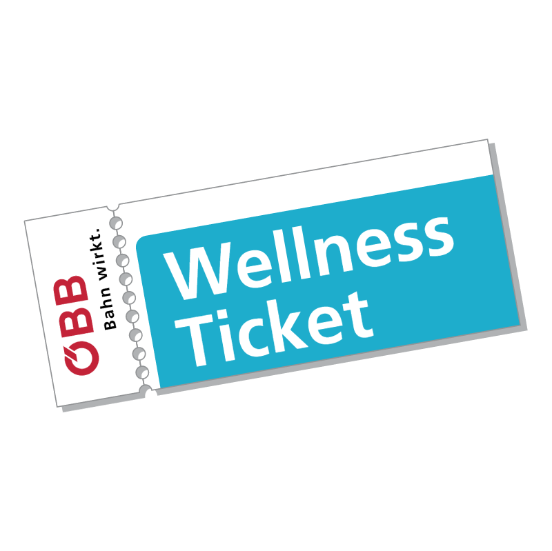 OBB Wellness Ticket vector
