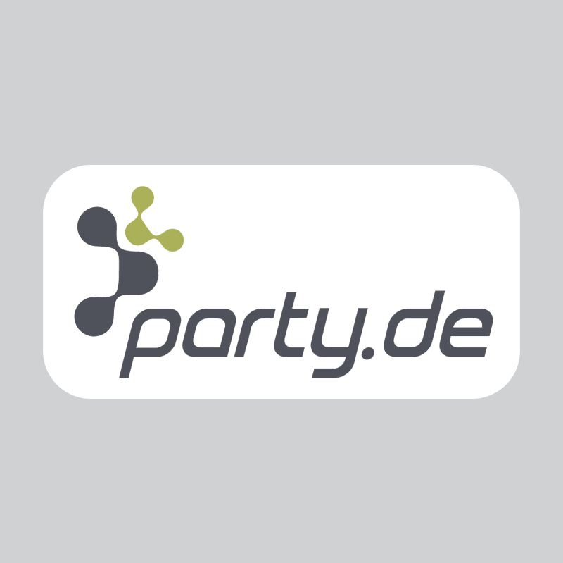 party de vector logo