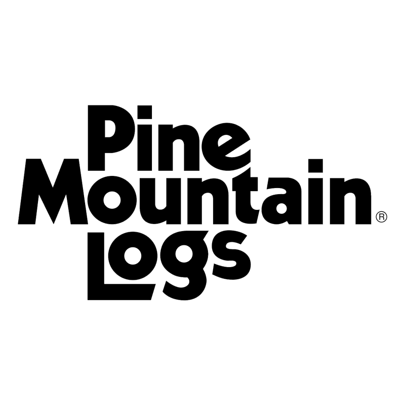 Pine Mountain Logs vector logo