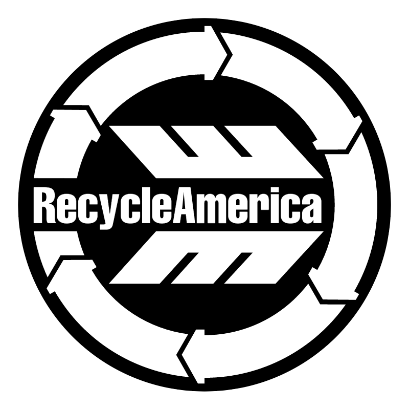 Recycle America vector logo