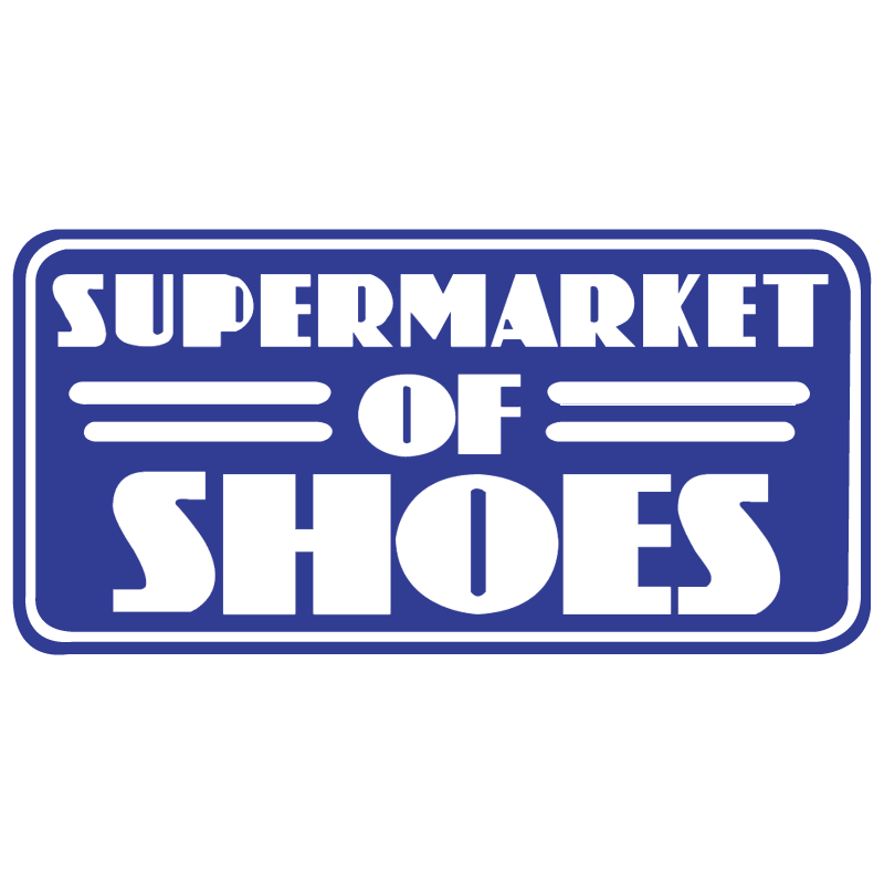 Supermarket of Shoes vector