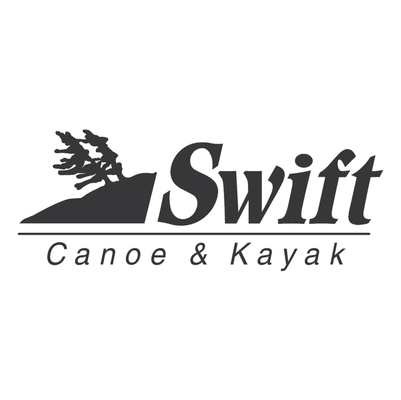 Swift Canoe & Kayak vector logo