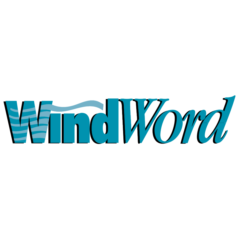 WindWord vector logo