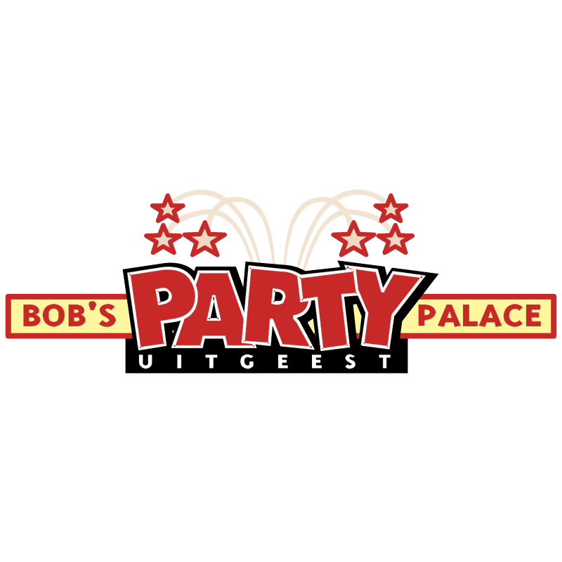 Bob's Party Palace vector logo