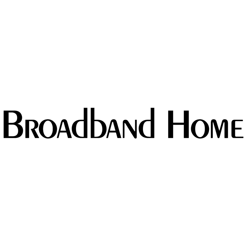 Broadband Home vector logo