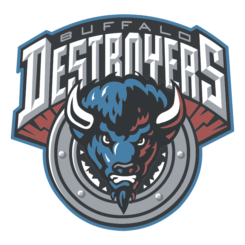 Buffalo Destroyers 43116 vector