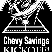 Chevrolet Savings Kickoff vector