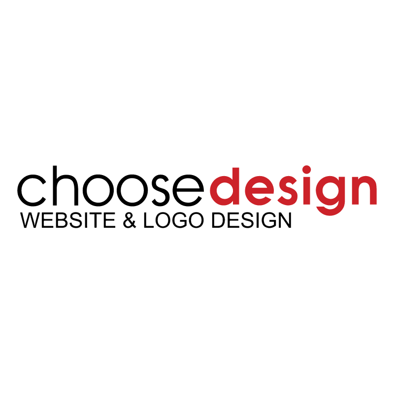 Choosedesign vector logo