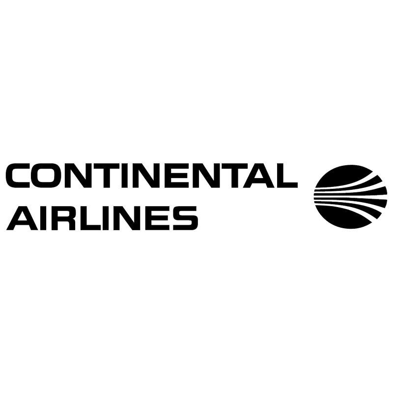 Continental Airlines 1286 vector