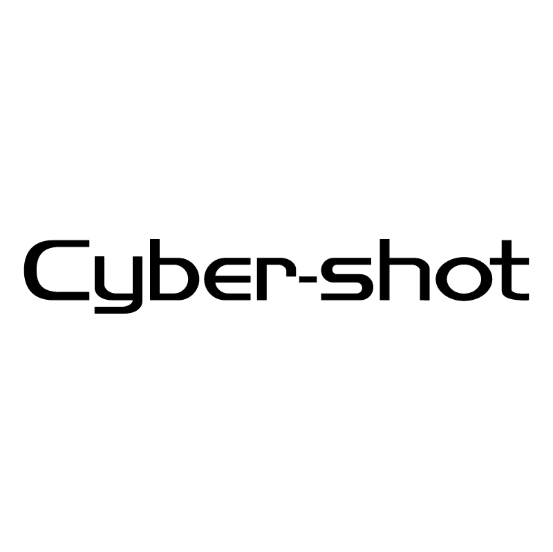 Cyber shot vector logo