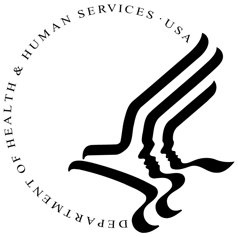 Department of Health & Human Services USA vector