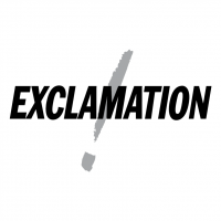 Exclamation vector