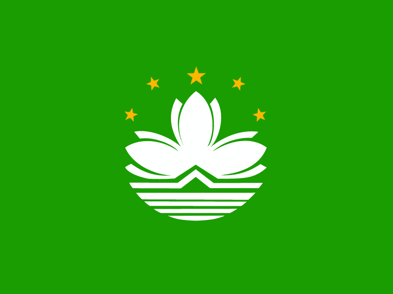 Flag of Macao vector