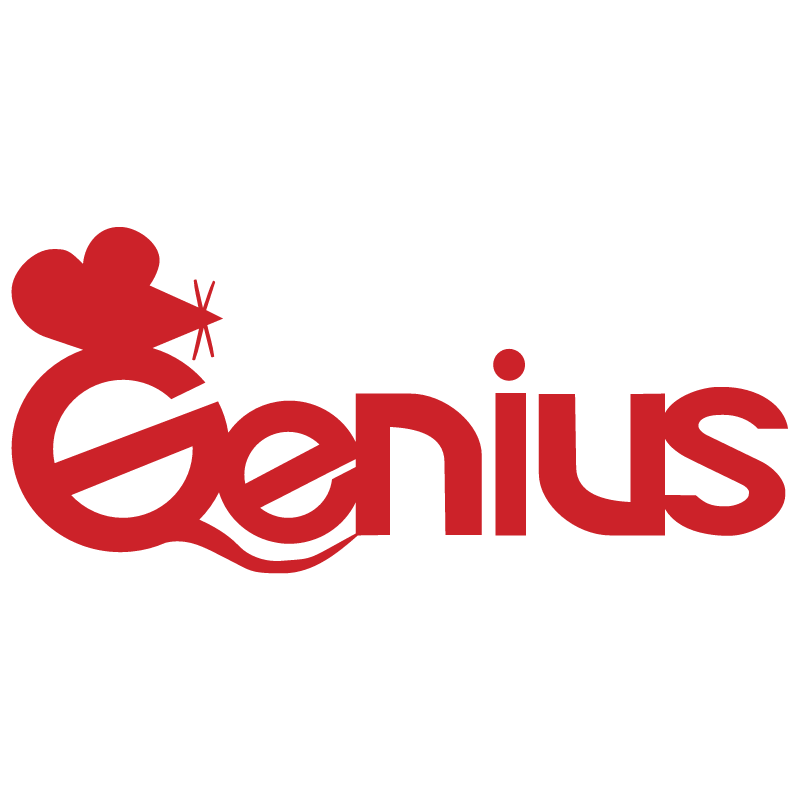 Genius vector logo