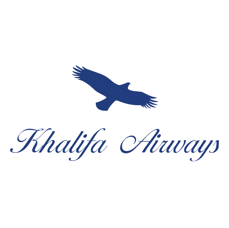 Khalifa Airways vector logo