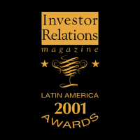 Latin America 2001 Awards vector