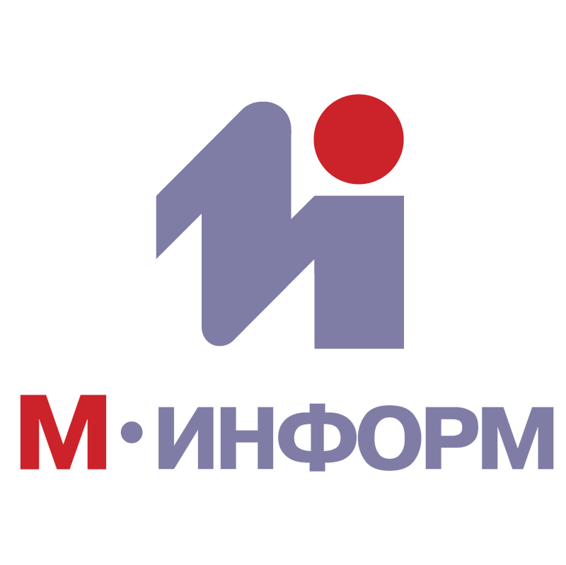 M Inform vector logo