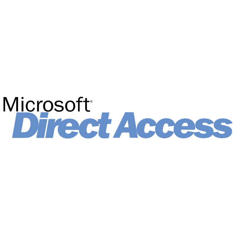 Microsoft Direct Access vector logo