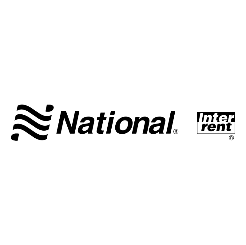 National Inter Rent vector