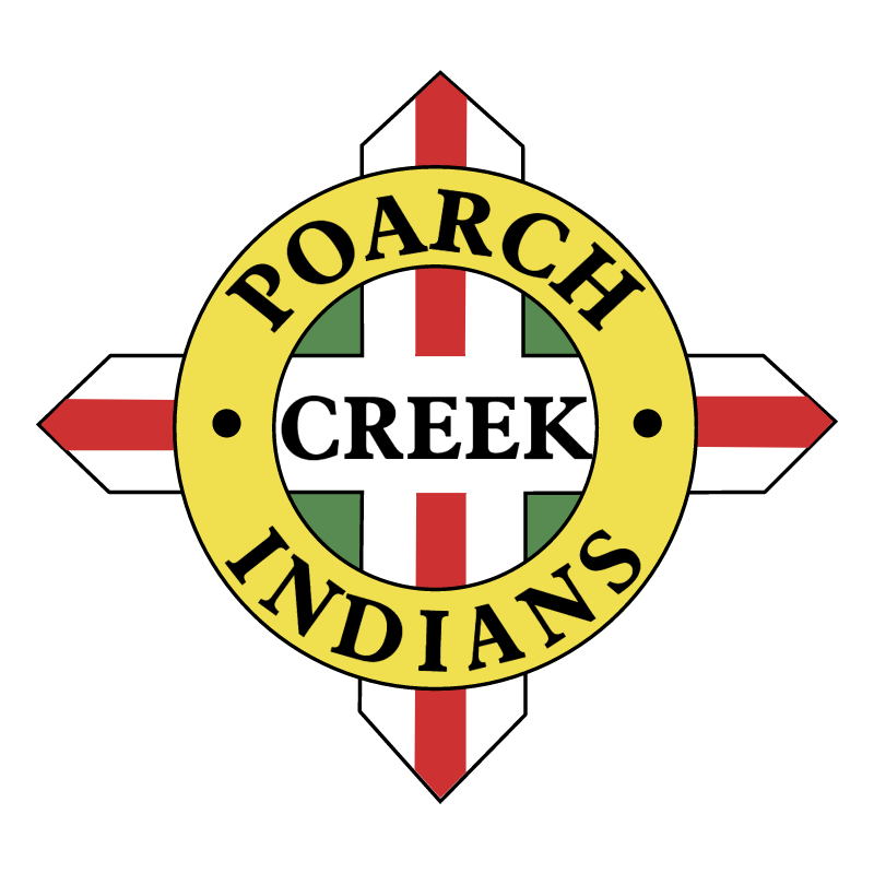Poarch Creek Indians vector