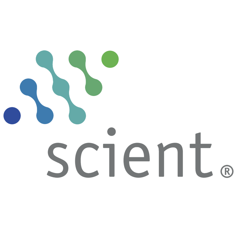 Scient vector logo