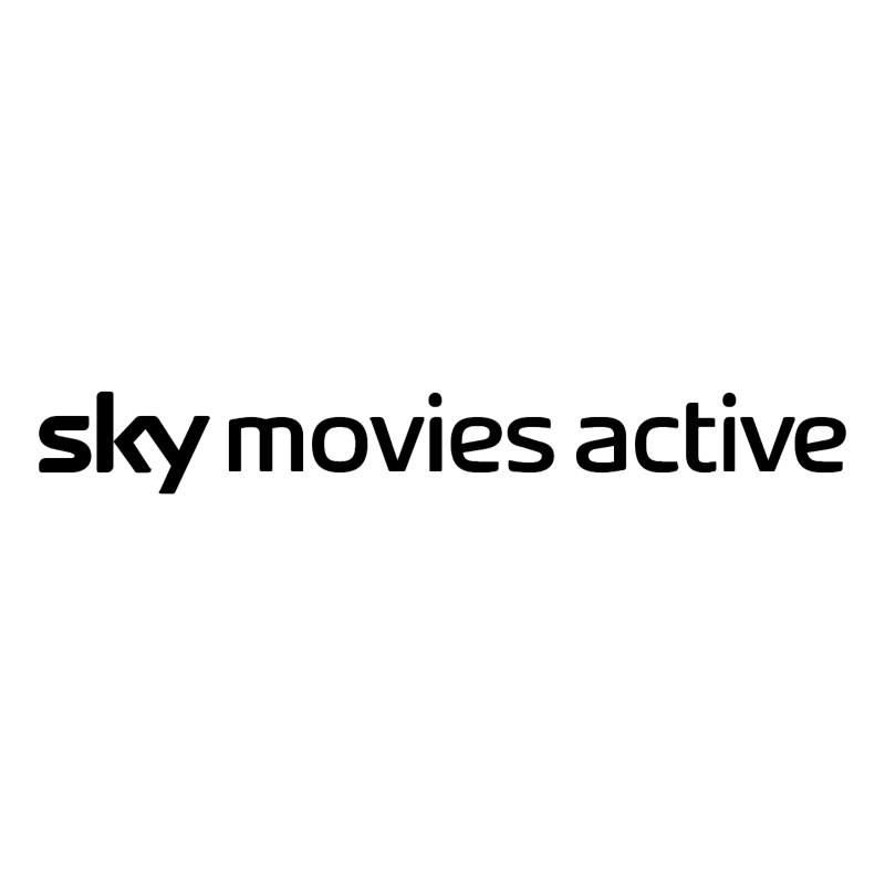 Sky Movies Active vector