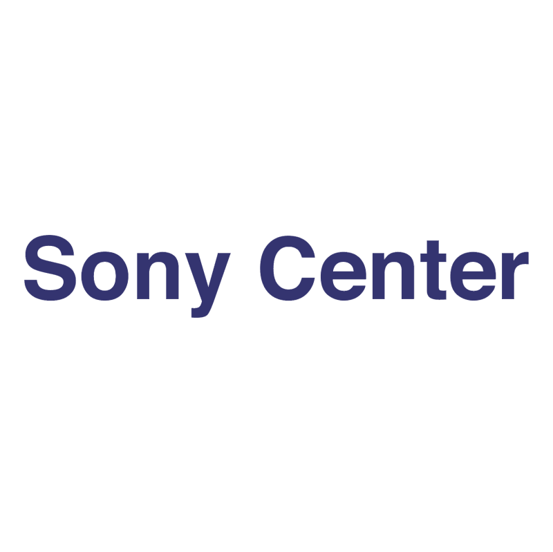 Sony Center vector logo