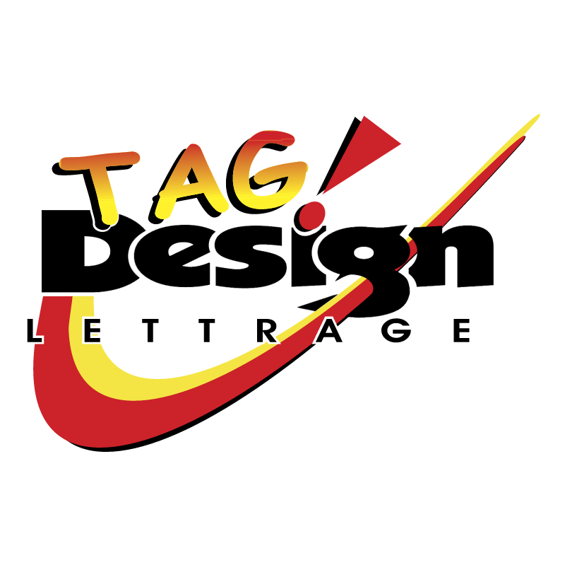 TAG Design vector