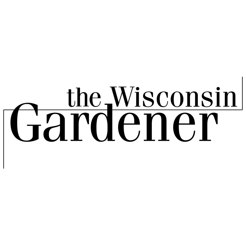 The Wisconsin Gardener vector