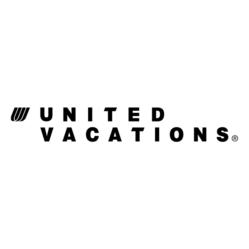 United Vacations vector