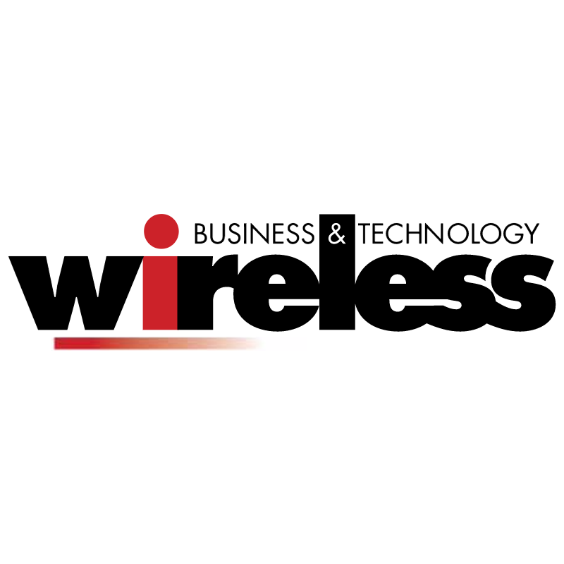 Wireless Business & Technology vector logo