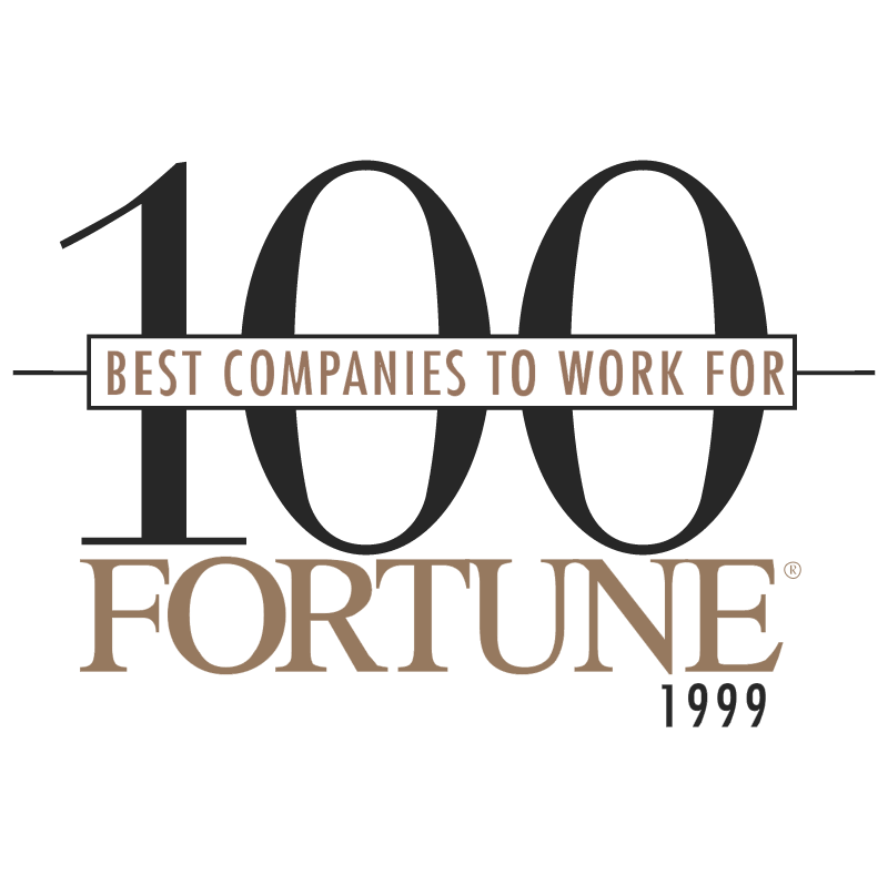 100 Best Companies Fortune vector