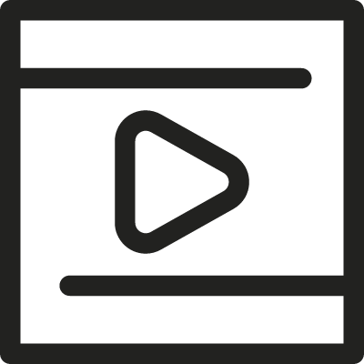 Video Square vector logo
