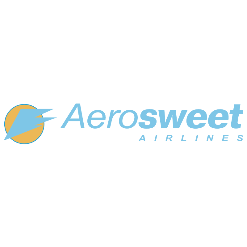 Aerosweet Airlines 543 vector