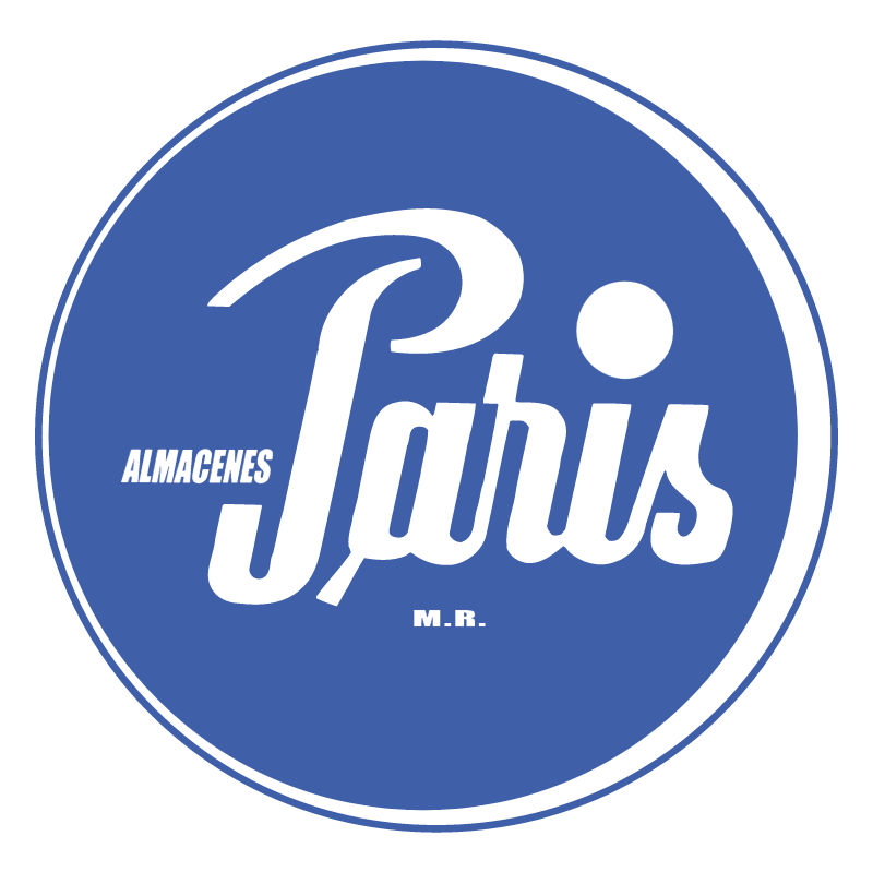 Almacenes Paris 52865 vector logo