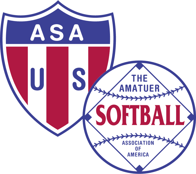 Amer Softball Assoc vector