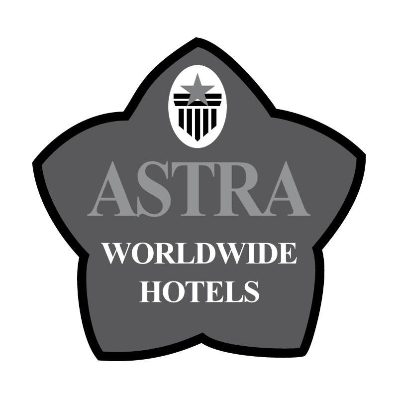 Astra Worldwide Hotels vector logo