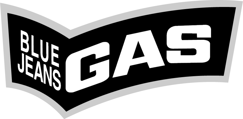 blue jeans gas vector