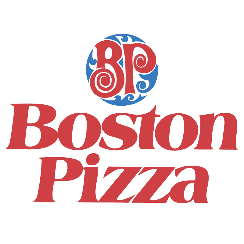 Boston pizzas vector