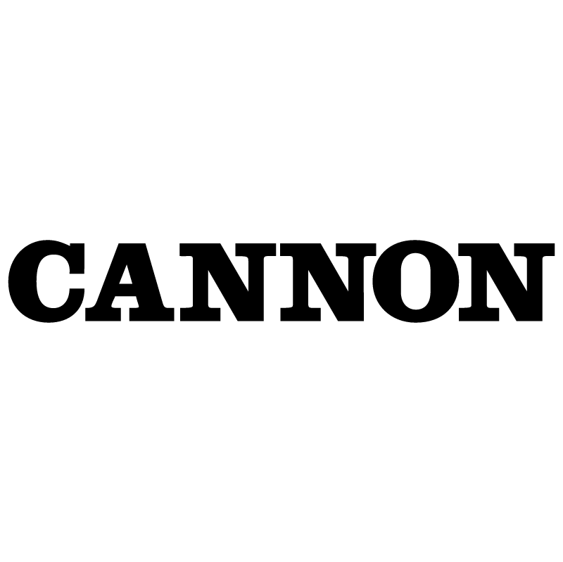 Cannon vector logo