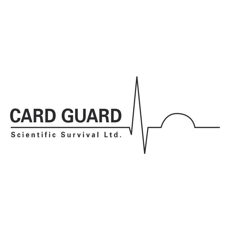 Card Guard Scientific Survival vector logo