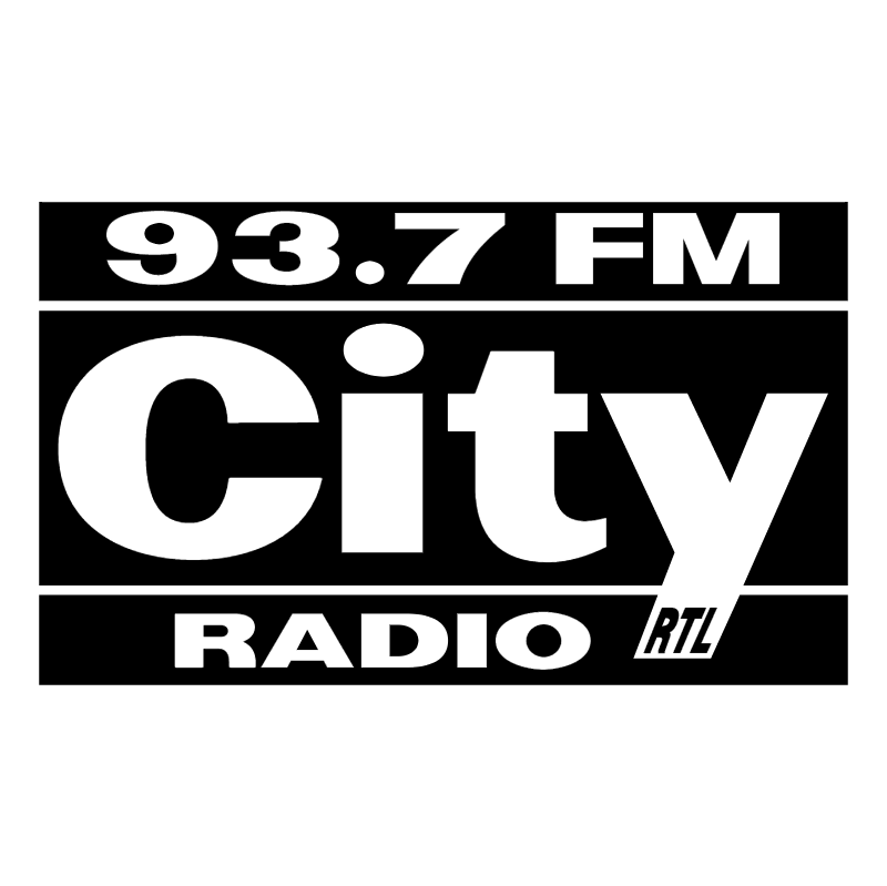 City Radio vector logo