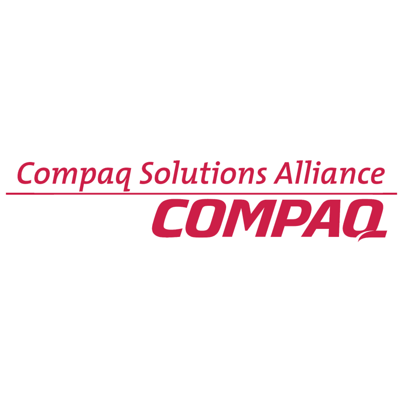 Compaq Solutions Alliance vector logo