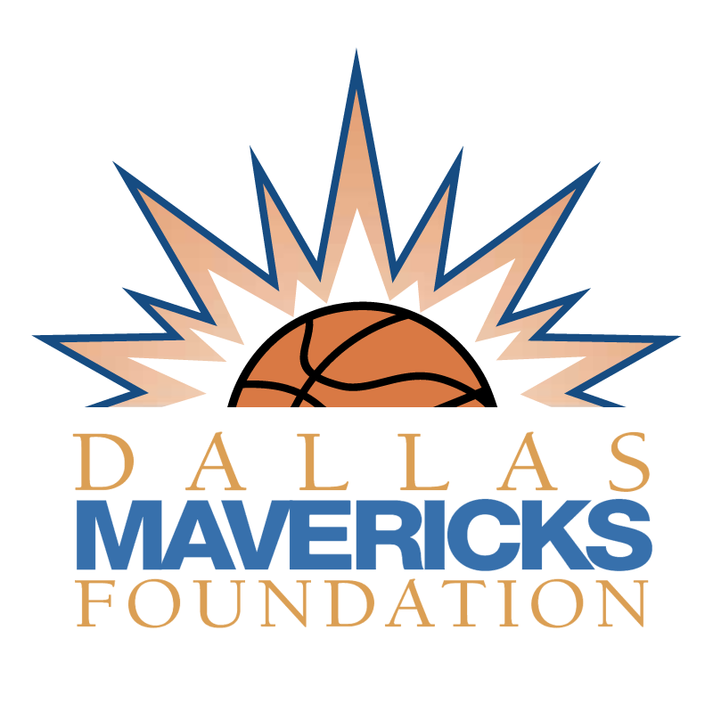 Dallas Mavericks Foundation vector