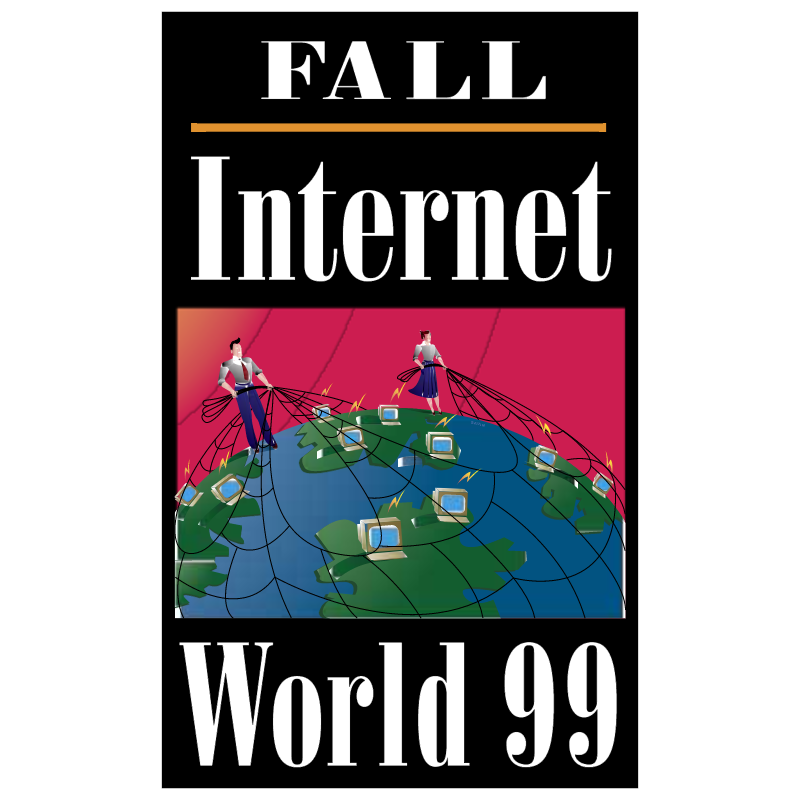Fall Internet World 99 vector logo