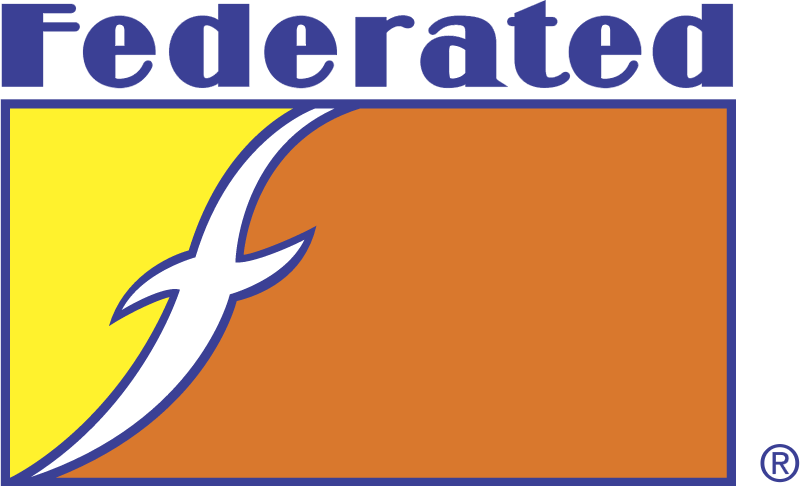 Federated vector logo