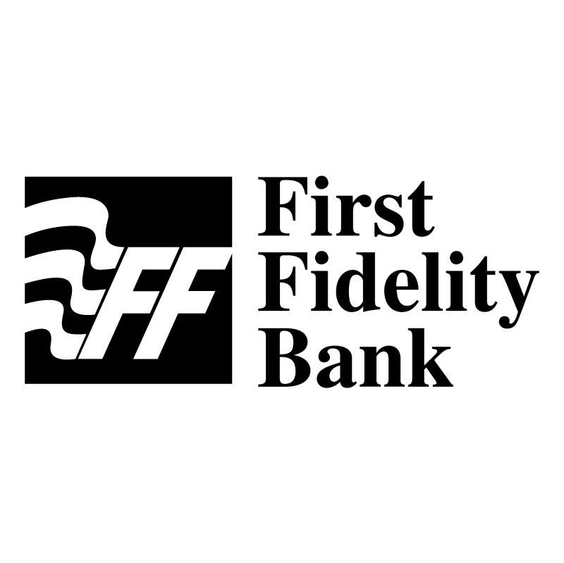 First Fidelity Bank vector logo