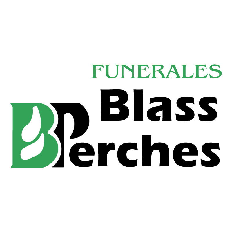 Funerales Blass Perches vector logo