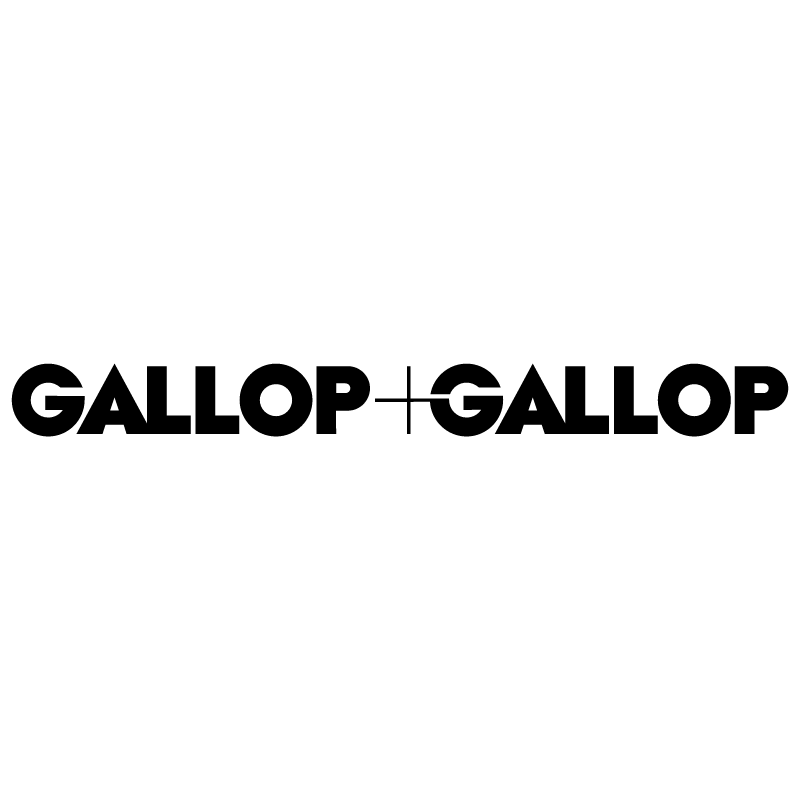 Gallop plus Gallop vector logo
