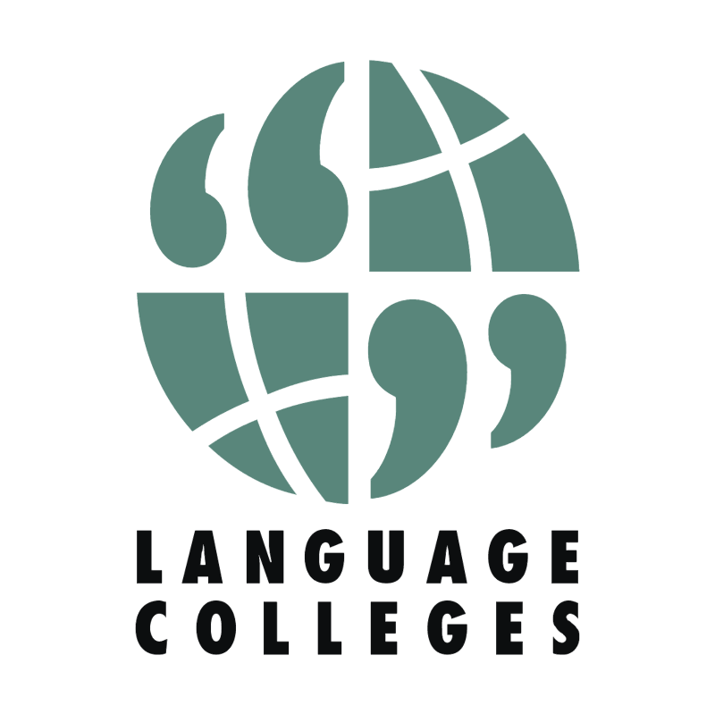 Language Colleges vector logo